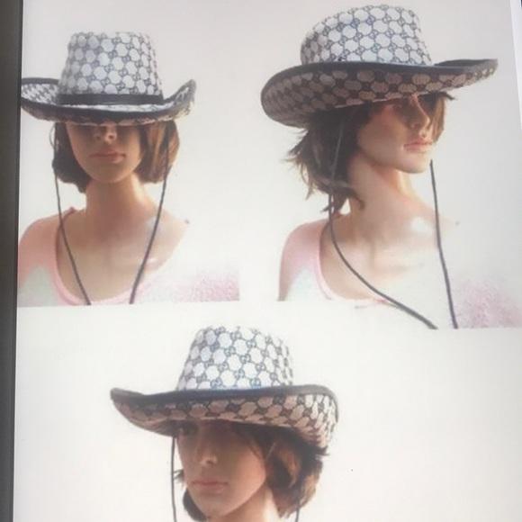 18f2768d Authentic Gucci Cowboy Hat